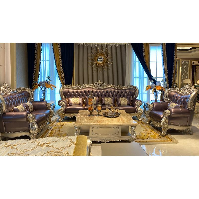 Italian living room elegant classic sofa DS055