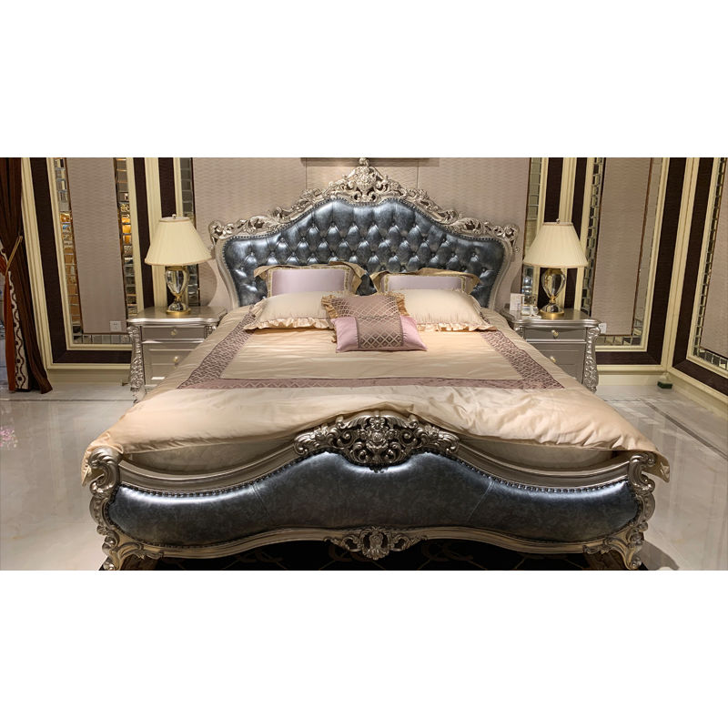 Classic luxury furniture exquisite hand carving H-3329a