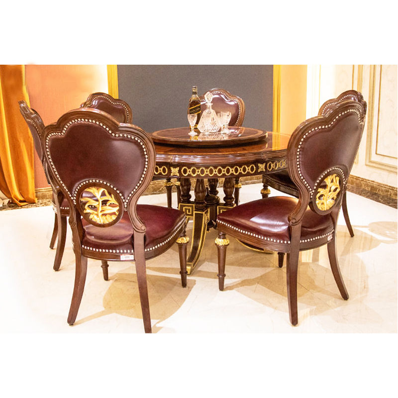 James Bond Classic round dining table and solid wood  JP667