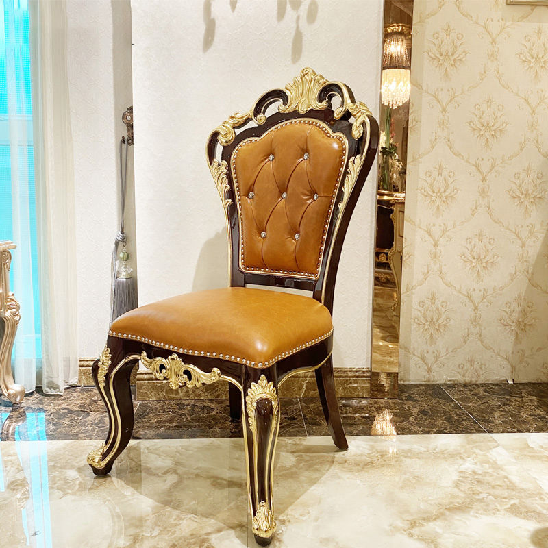Classic furniture classic dining chair JF506 luxurious sense of value