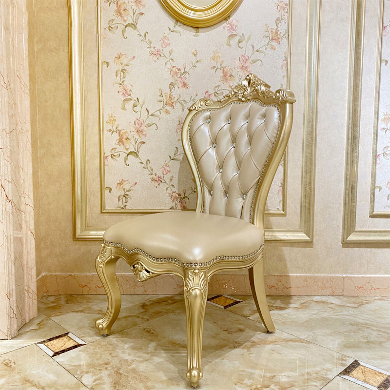 Classic dining room hand-carved classic dining chair JP612