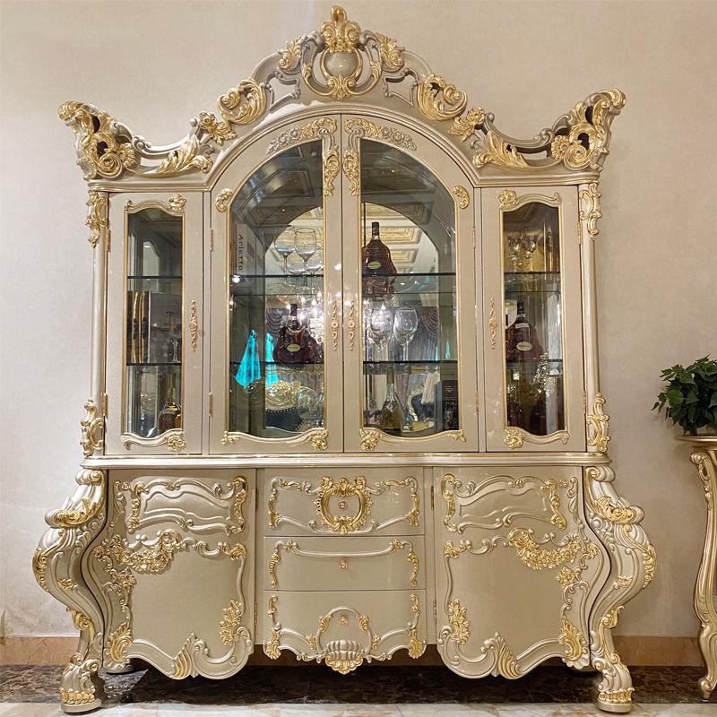 Royal furniture luxury classic wine cabinet JP738