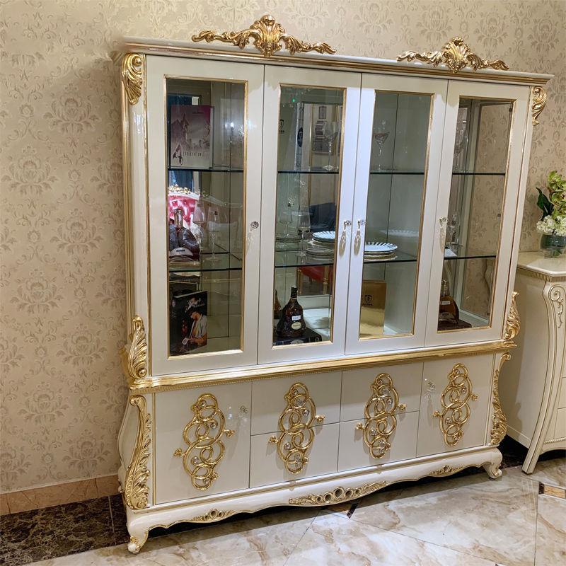 Luxury Italian furniture James Bond Furniture classic wine cabinet