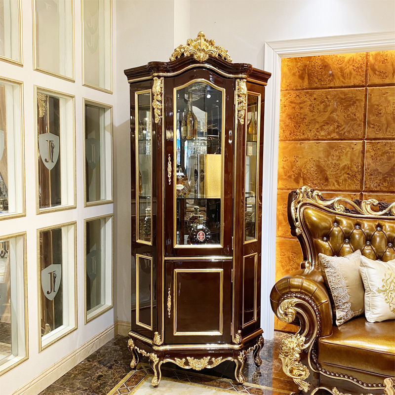 Classic living room furniture high quality wine cabinet