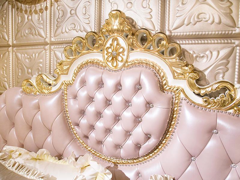 James Bond traditional bedroom furniture wholesale for villa-2