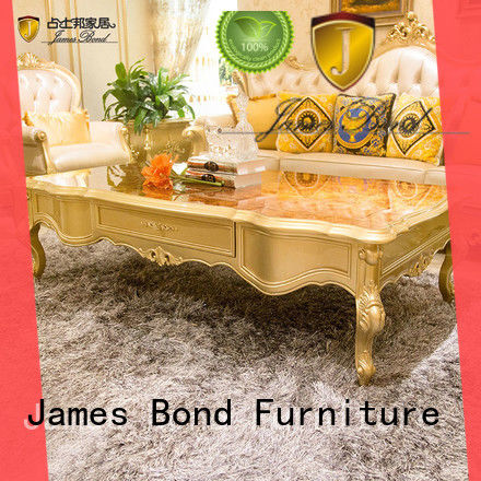 James Bond durable luxury coffee table series for guest room