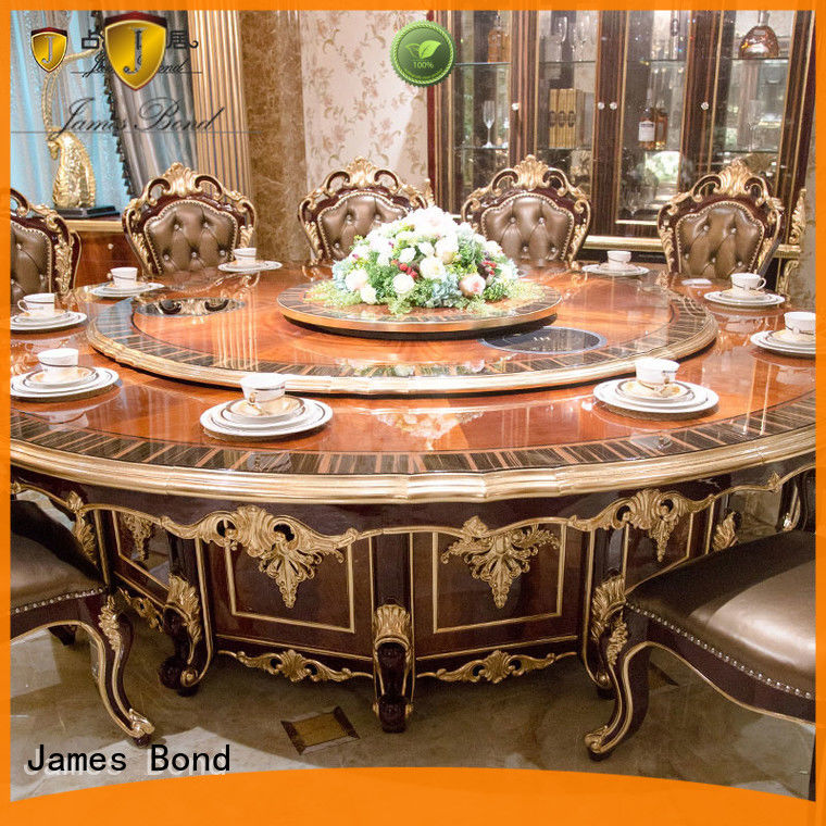 James Bond modern design dining table classic wholesale for hotel