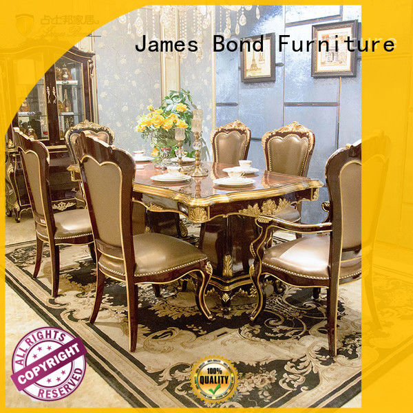 luxury classic dining table designs directly sale for restaurant