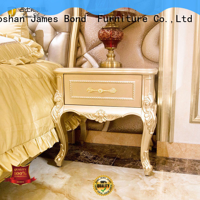 James Bond italian classic bedside table manufacturer for apartment
