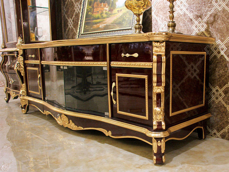 James Bond fashionable traditional tv cabinet material for hotel-2