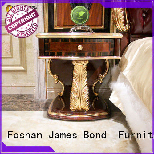 James Bond bedside table design factory direct supply for hotel