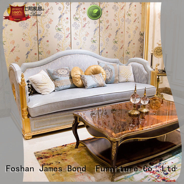 James Bond solid wood classic style sofa factory direct supply for church