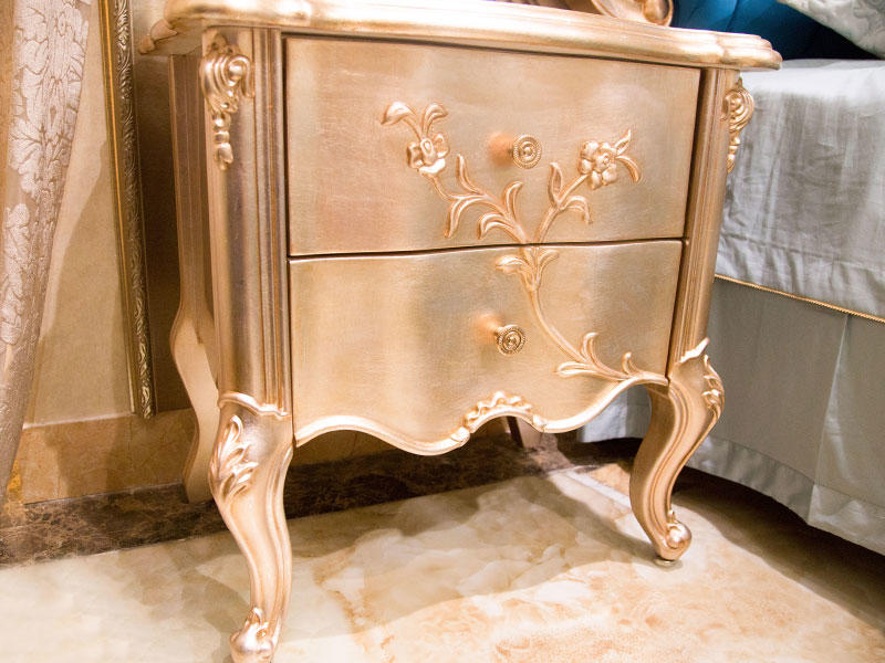 James Bond traditional bedside table factory direct supply for hotel-2