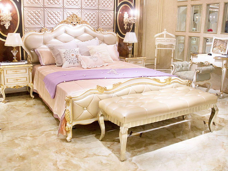 James Bond traditional bedroom furniture from China for apartment-1