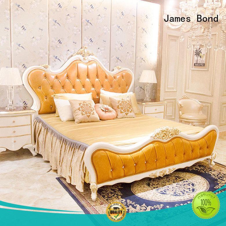 durable classic italian bed supplier for villa James Bond