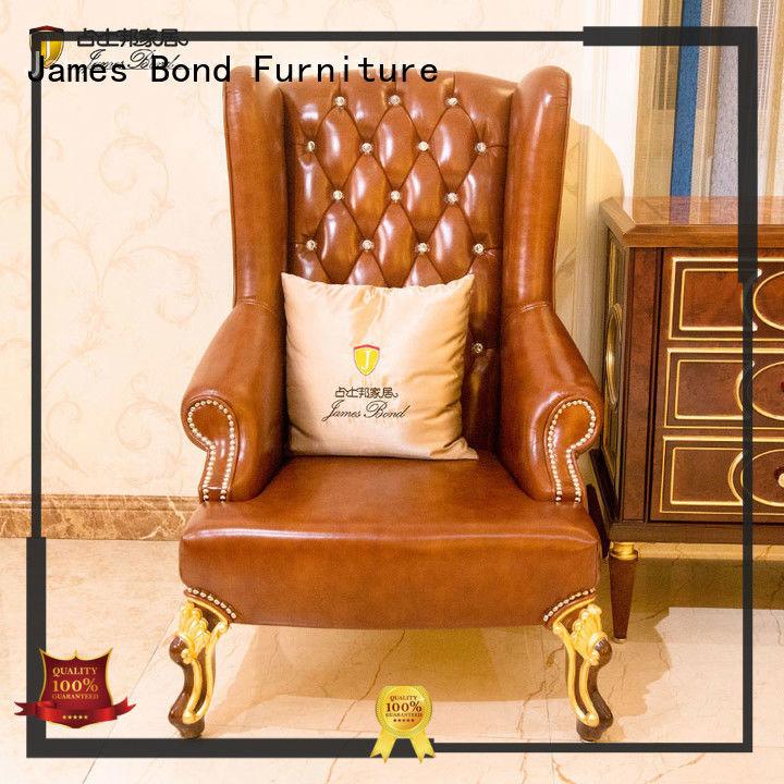 Classical leisure chair series for church James Bond