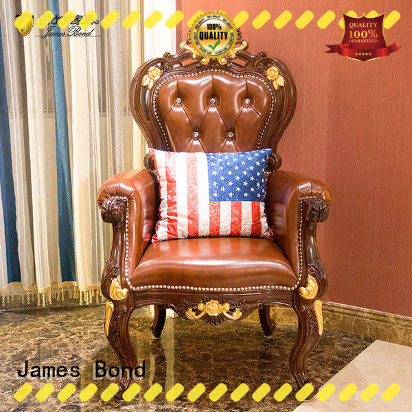 James Bond durable Classical leisure chair series for restaurant