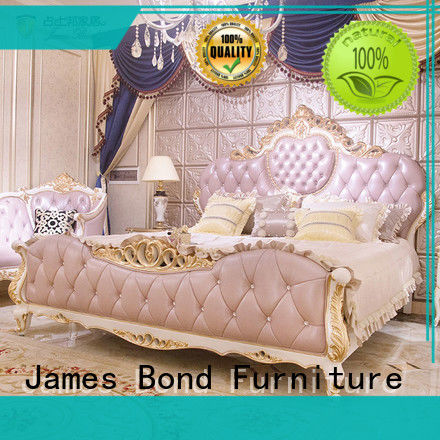 James Bond excellent luxury bedroom sets wholesale for apartment