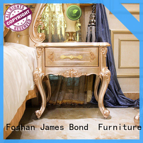 James Bond classic bedside table wholesale for villa