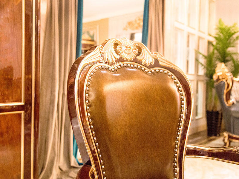 James Bond high quality traditional dining room chairs directly sale for restaurant-3