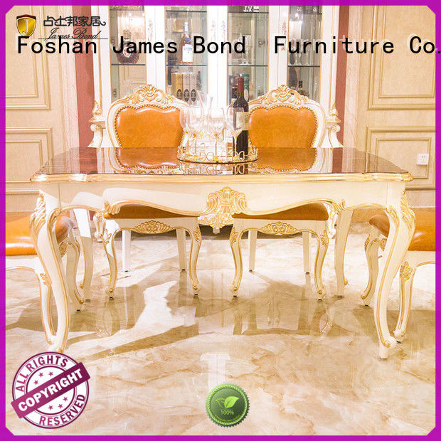 James Bond classic dining table designs wholesale for restaurant
