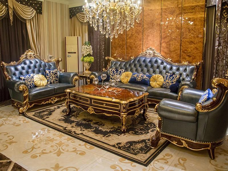 luxury classic leather furniture factory direct supply for church-1