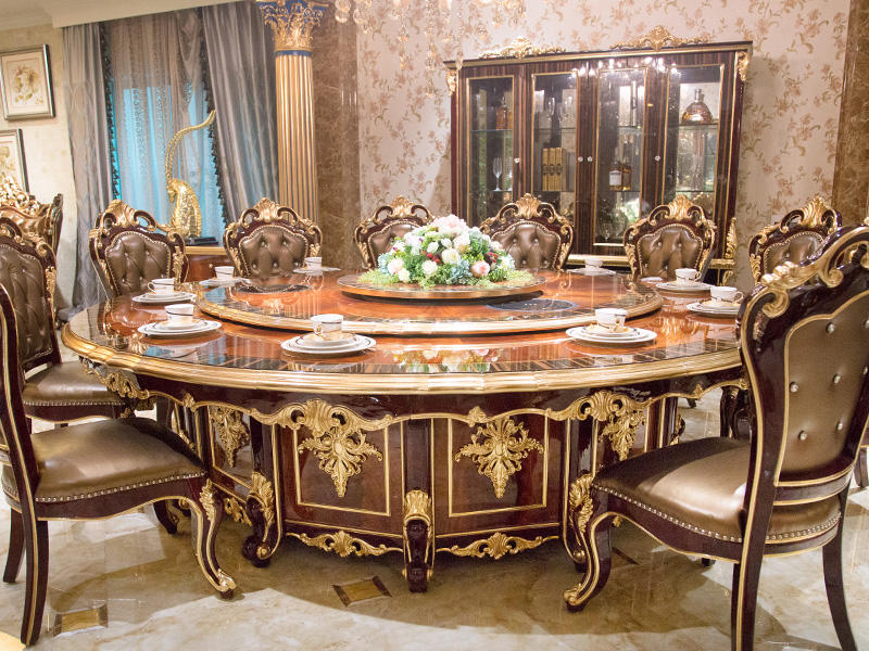 traditional dining table series for home James Bond-3