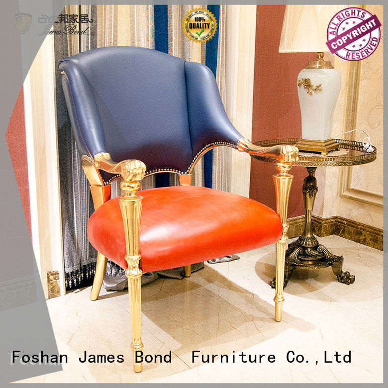James Bond classic furniture 14k gold red and blue leisure chairs  JP634