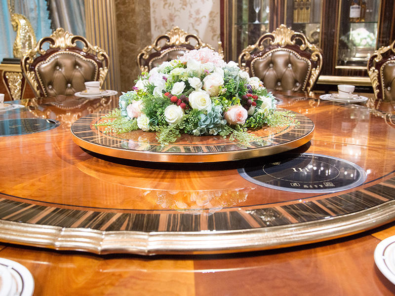 traditional dining table series for home James Bond-1