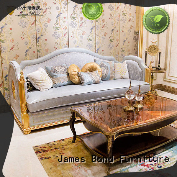 James Bond stable leather chesterfield sofa factory direct supply for restaurant