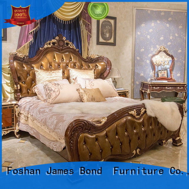 James Bond traditional bedroom furniture manufacturer for villa