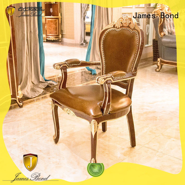 James Bond high quality traditional dining room chairs directly sale for restaurant
