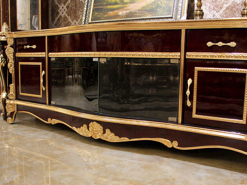 James Bond fashionable traditional tv cabinet material for hotel-1