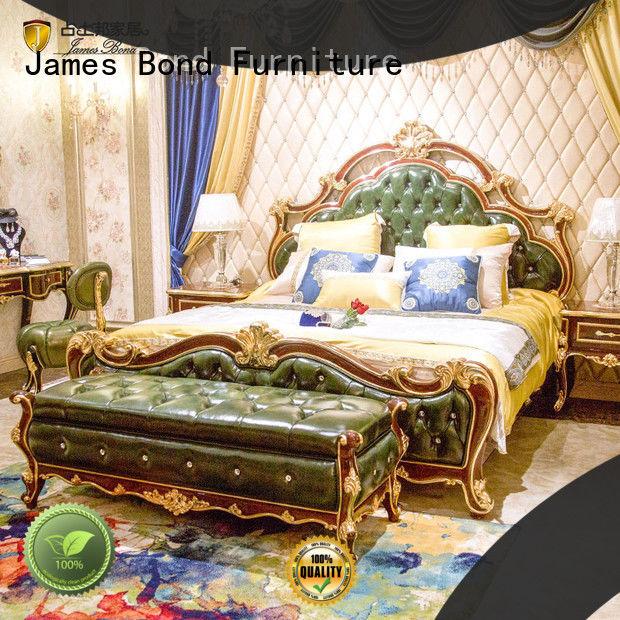 James Bond luxury bedroom furniture sets manufacturer for apartment
