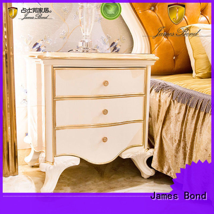 James Bond stable traditional bedside table supplier for villa