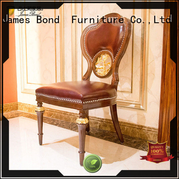 James Bond traditional dining chairs factory direct supply for home