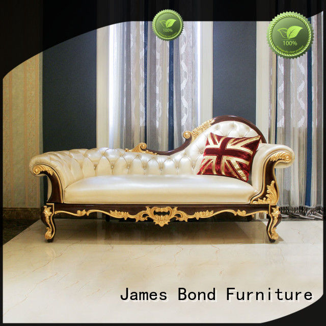 James Bond chaise lounge furniture details for school