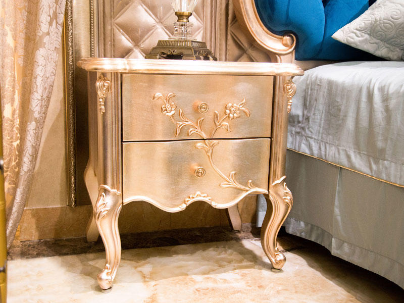 James Bond traditional bedside table factory direct supply for hotel-1