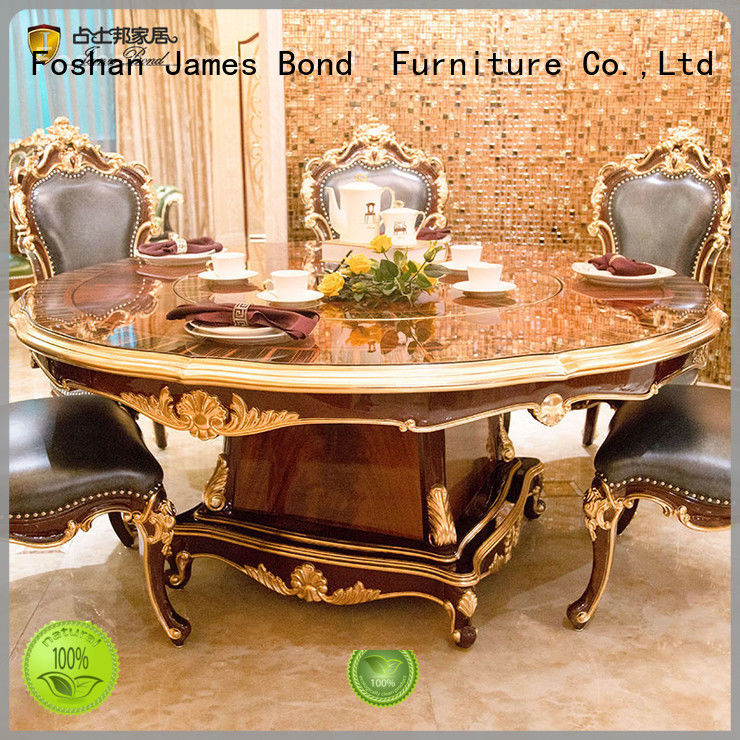 luxury classic dining table designs supplier for restaurant