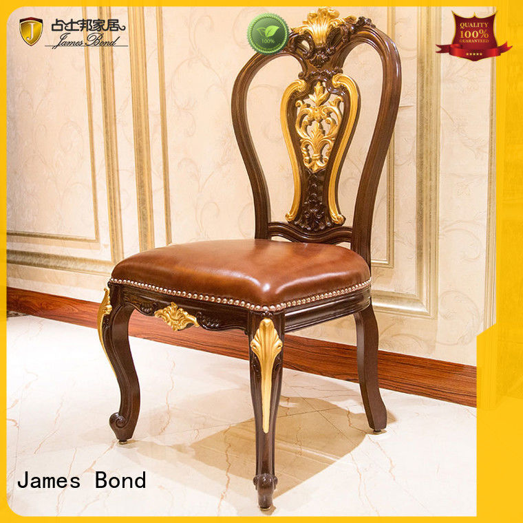 James Bond luxury classic dining room chairs customization for restaurant