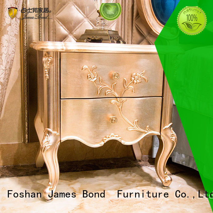 James Bond luxury furniture bedside table manufacturer for apartment