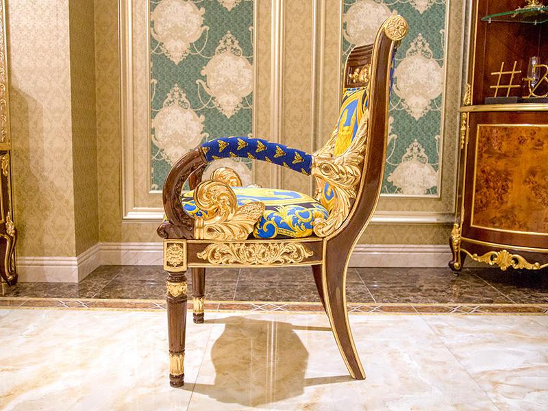 James Bond velvet neoclassic chair supplier for church-2