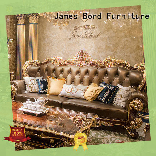 James Bond traditional sofa set factory direct supply for hotel