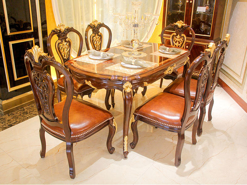 New Classic Dining Table Designs Wood Supply For Villa James Bond