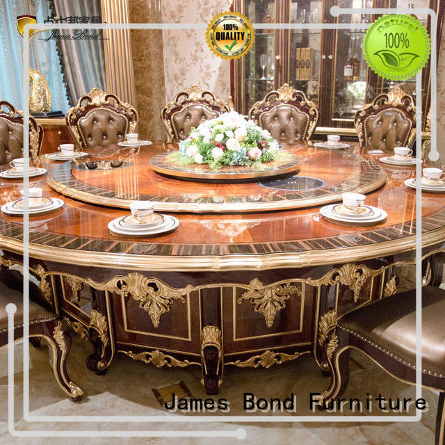 traditional dining table series for home James Bond