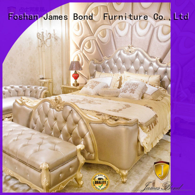 James Bond traditional bedroom sets wholesale for apartment