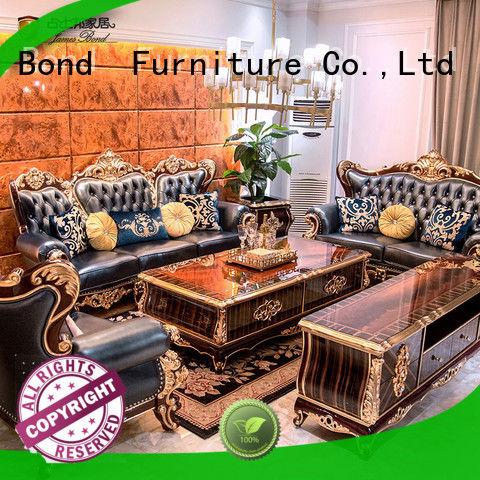 James Bond exquisite classic leather sofa supplier for restaurant