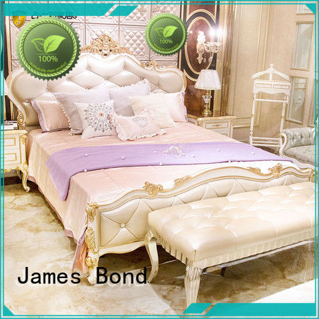 James Bond contemporary traditional bedroom sets factory price for home