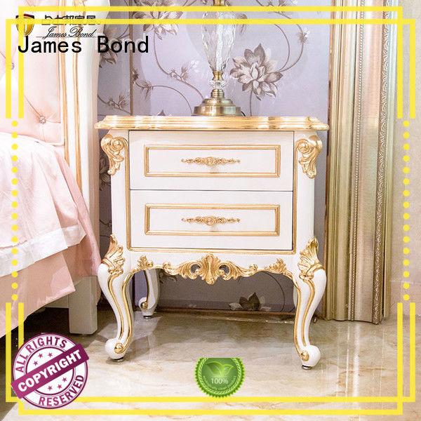 James Bond Classical BedsideTable supplier for villa
