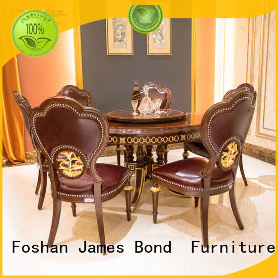 James Bond traditional dining table directly sale for villa